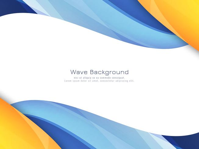 Abstract bright colorful wavy background