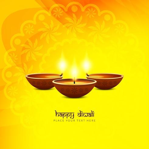 Fondo religioso abstracto feliz Diwali