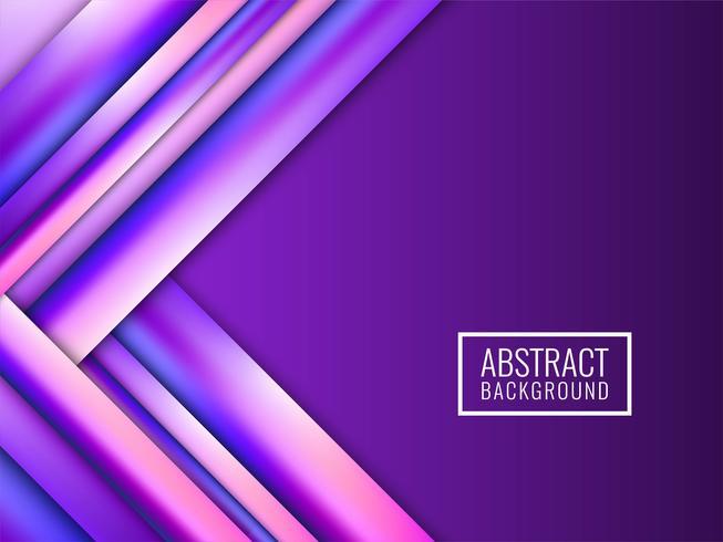 Abstrait moderne rayures colorées