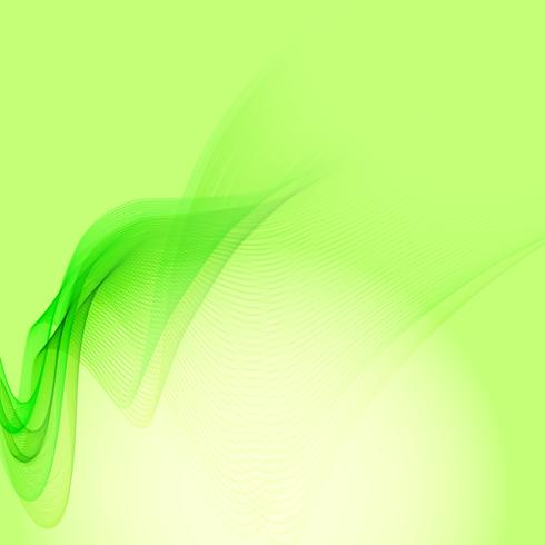 Abstract elegant wave stylish background vector