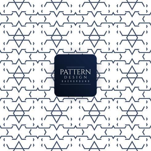 Abstracte naadloze moderne patroonachtergrond vector
