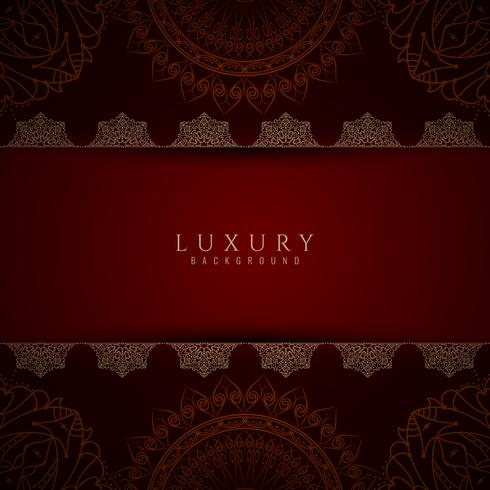 Abstract stylish luxury mandala background