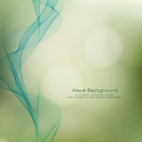 Abstract elegant wave style colorful background