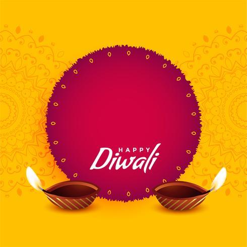 design di auguri festival per diwali
