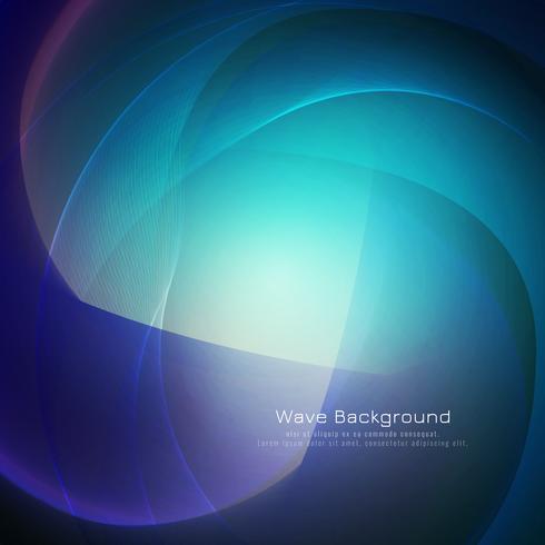 Diseño abstracto azul del fondo de la onda