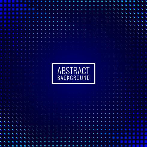Fondo de mosaico azul oscuro abstracto