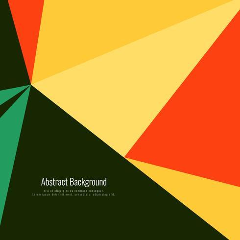 Abstrait coloré polygonale