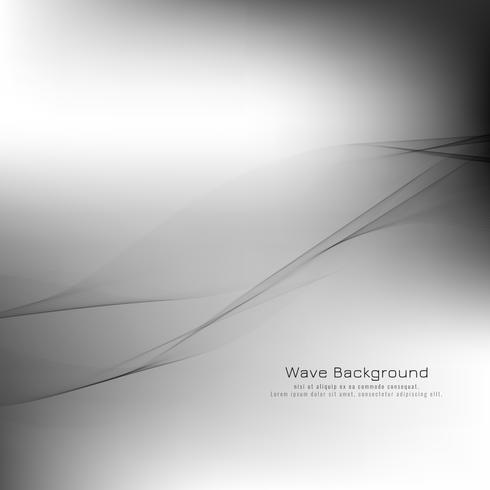 Design de fond abstrait vague grise