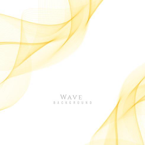 Fondo moderno de la onda con estilo abstracto