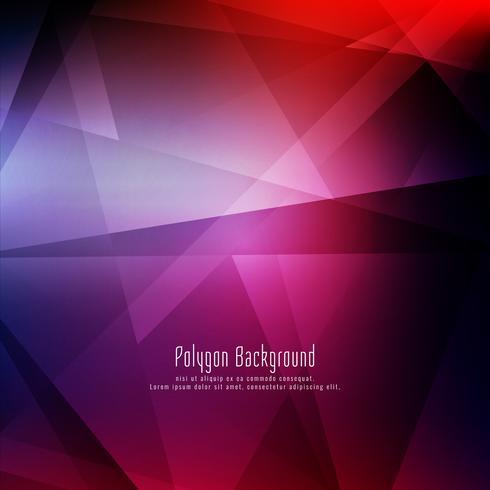 Fondo geométrico colorido elegante abstracto