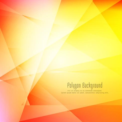 Abstract colorful stylish geometric background vector