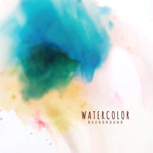 Abstrakt färgrik akvarellbakgrund