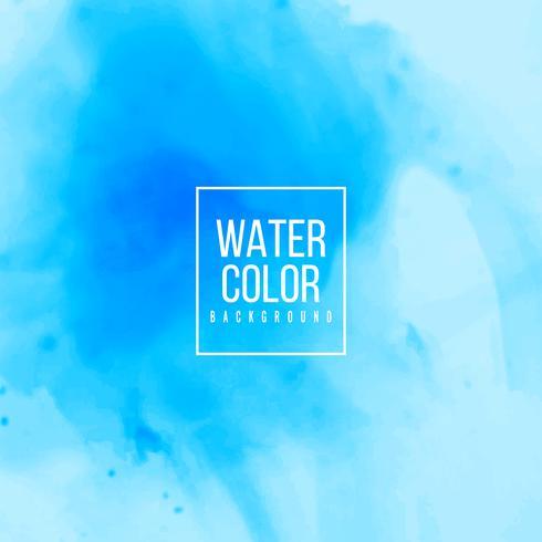 Abstrakt blå akvarellbakgrund