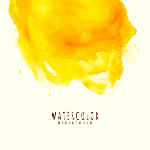 Abstract bright watercolor background vector