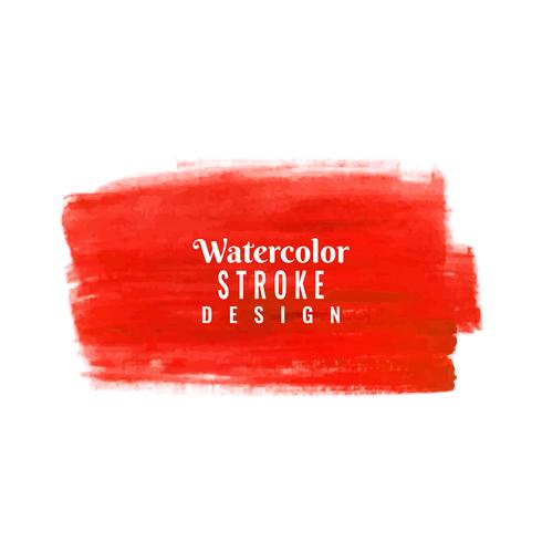 Abstract watercolor stroke design background