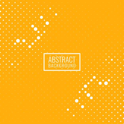 Abstract bright yellow halftone background vector