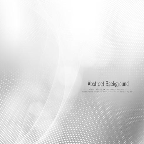 Abstrakter eleganter grauer Farbwellenhintergrund