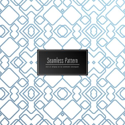 Abstract geometric seamless pattern elegant background vector