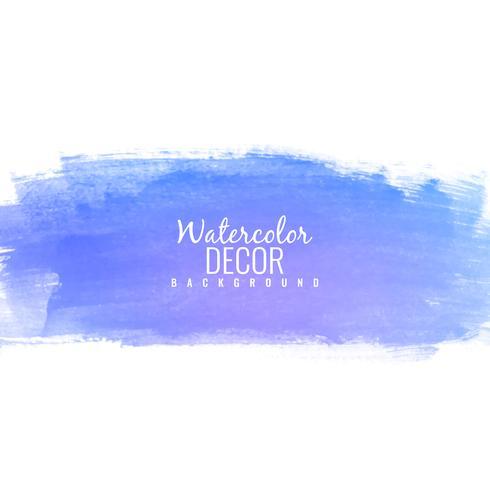 Illus azul abstracto colorido del fondo del diseño del movimiento de la acuarela