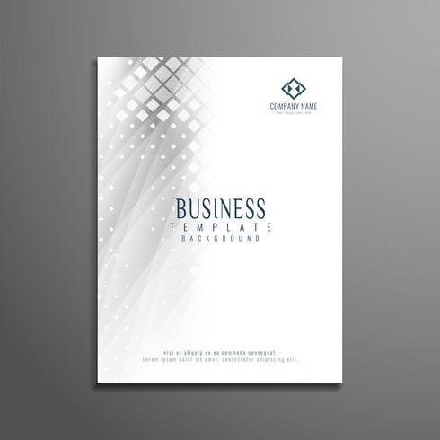 Diseño de plantilla de volante de negocios gris abstracto