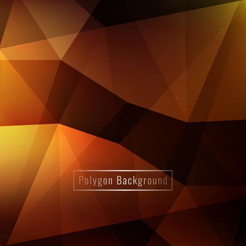 Astratto elegante colorato geometrico poligono