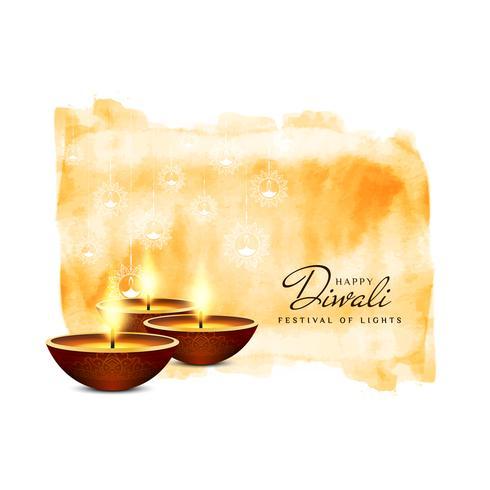 Abstrakt Glad Diwali bakgrund;
