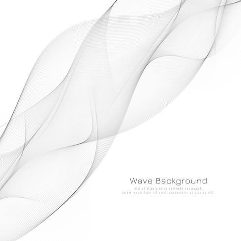 Abstrakt grå vågig modern bakgrundsdesign