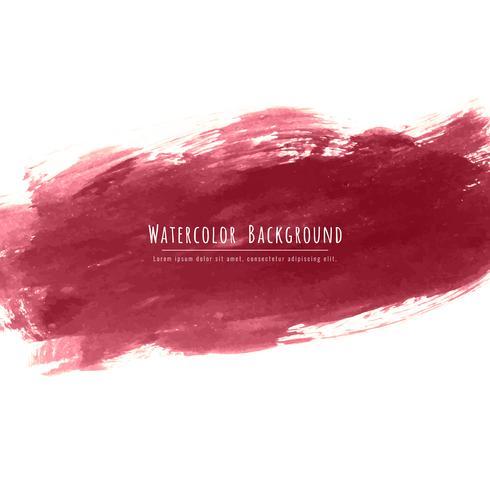 Astratto sfondo acquerello rosso