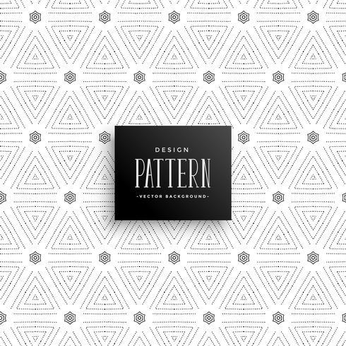 Fondo sutil elegante triángulo puntos patrón