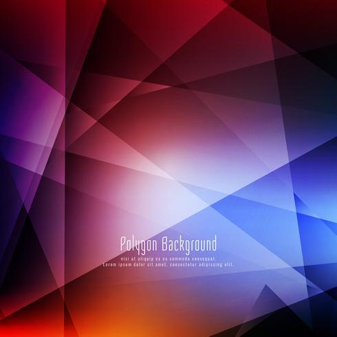 Abstrakter bunter stilvoller geometrischer Hintergrund