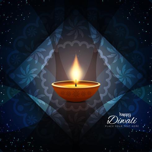 Priorità bassa alla moda astratta felice di Diwali