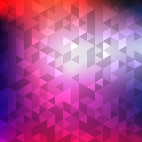Priorità bassa del mosaico geometrico colorato astratto