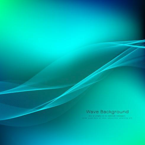 Abstrakt ljus färgrik våg bakgrund