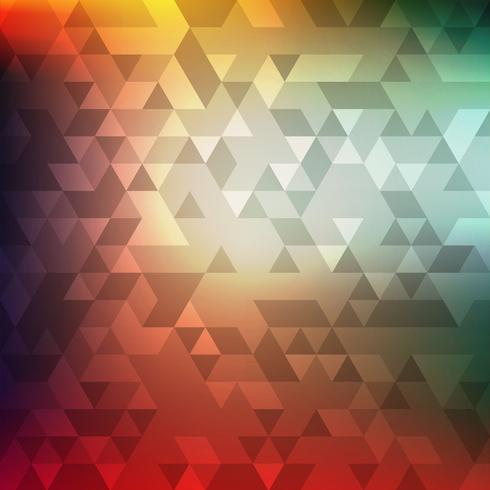 Abstrakt färgrik geometrisk mosaik bakgrund