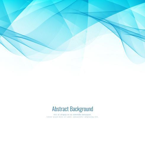 Abstract blauw golvend modern geometrisch ontwerp als achtergrond