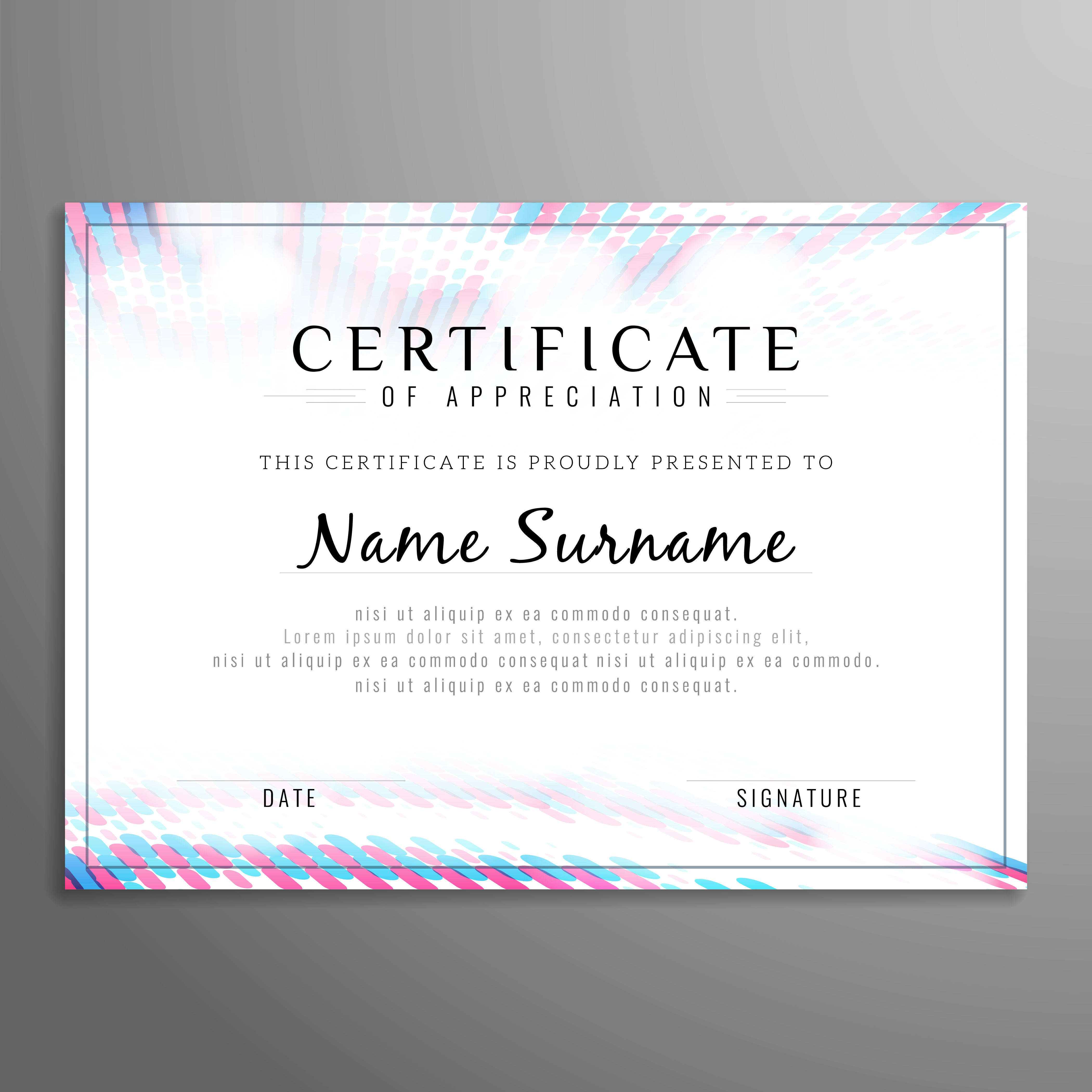 Abstract certificate background - Download Free Vector Art ...