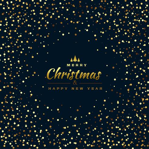 elegant glitterbakgrund för god jul
