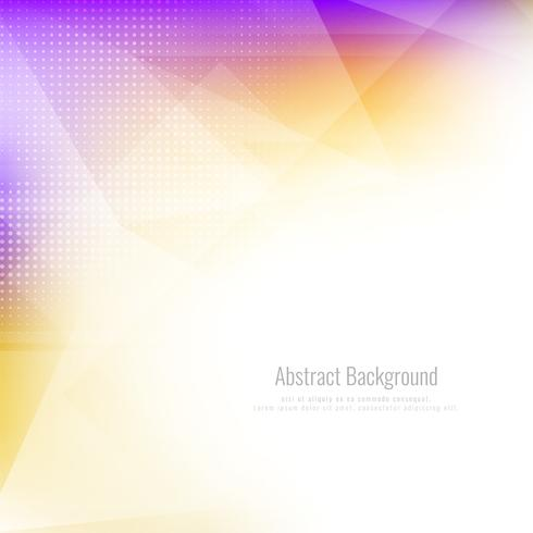 Abstract stylish polygonal background vector