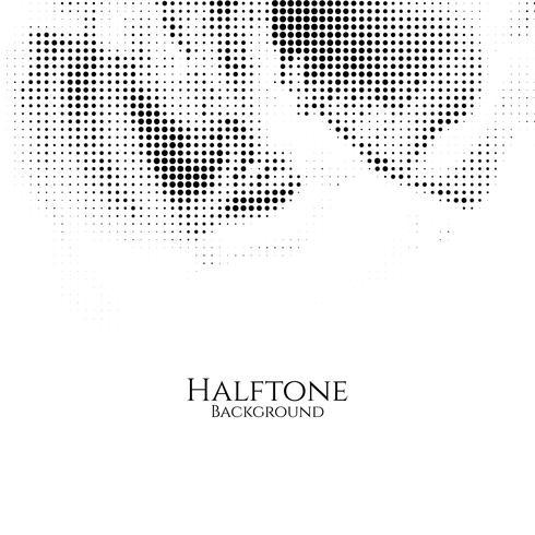 Abstracte halftone vectorachtergrond