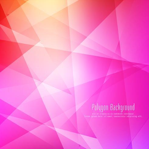 Fundo brilhante geométrico colorido abstrato