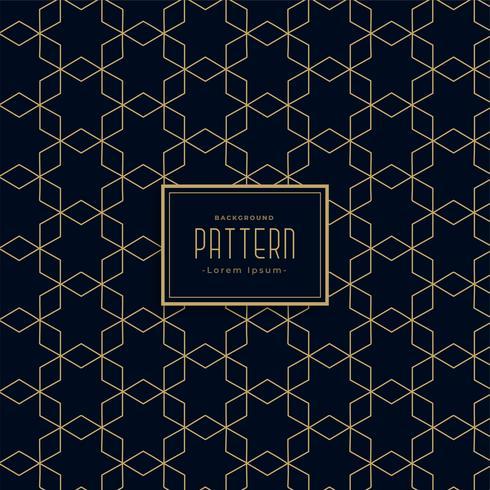 Estilo geométrico artístico línea oscura patrón de fondo