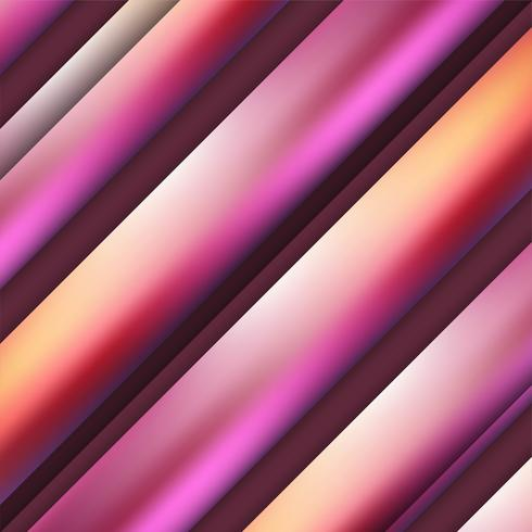 Fond élégant abstrait rayures colorées