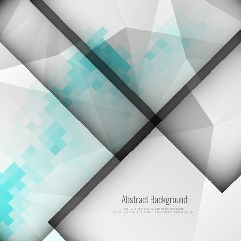 Abstrait géométrique polygonale moderne