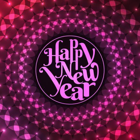 Abstrato elegante feliz ano novo 2019 fundo