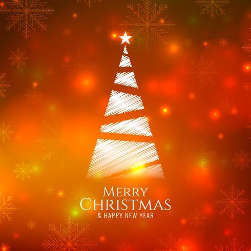Abstrakter heller glühender Hintergrund der frohen Weihnachten