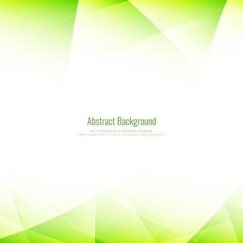 Fondo poligonal verde brillante abstracto