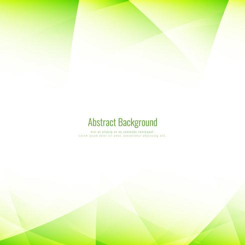 Abstrait vert clair polygonale