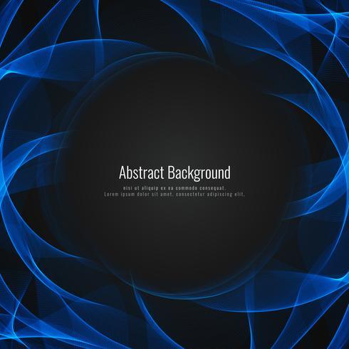 Design de fond abstrait vague brillante