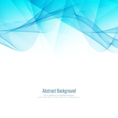 Disegno geometrico moderno ondulato astratto blu della priorità bassa