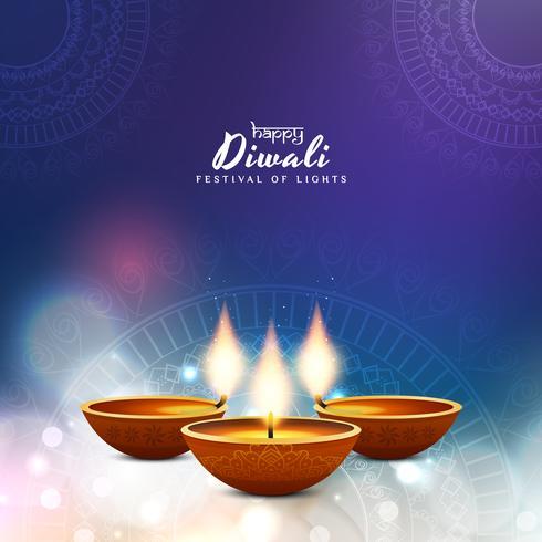 Abstrakt Glad Diwali bakgrund